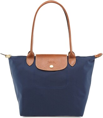 Longchamp Le Pliage Small Nylon Long Handle Tote