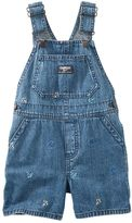 Osh Kosh Baby Boy Anchor Denim Shortalls