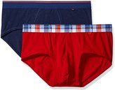 Dockers 2-Pack Cotton Stretch Anchor Printed Waistband Brief