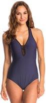Nautica Net Effect One Piece Swimsuit 8144757