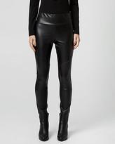 Le Château Leather-Like & Knit Leggings