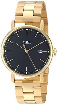 Vestal Unisex SP36M02.3GDX Sophisticate 36 Metal Analog Display Swiss Quartz Watch
