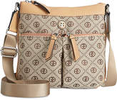 Giani Bernini Annabelle Chain Signature Crossbody, Only at Macy's