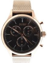 HUGO BOSS Companion Watch Gold
