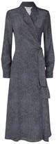 Max Mara Silk Ravel Dress