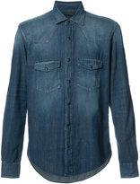Belstaff chest pockets denim shirt - men - Cotton - L