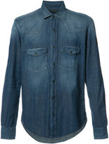 Belstaff chest pockets denim shirt