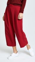 ADAM by Adam Lippes Pleat Front Culottes