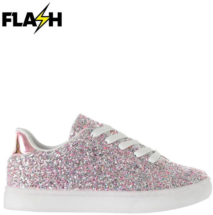 Thumbnail for your product : Fabric Flash Childrens Trainers