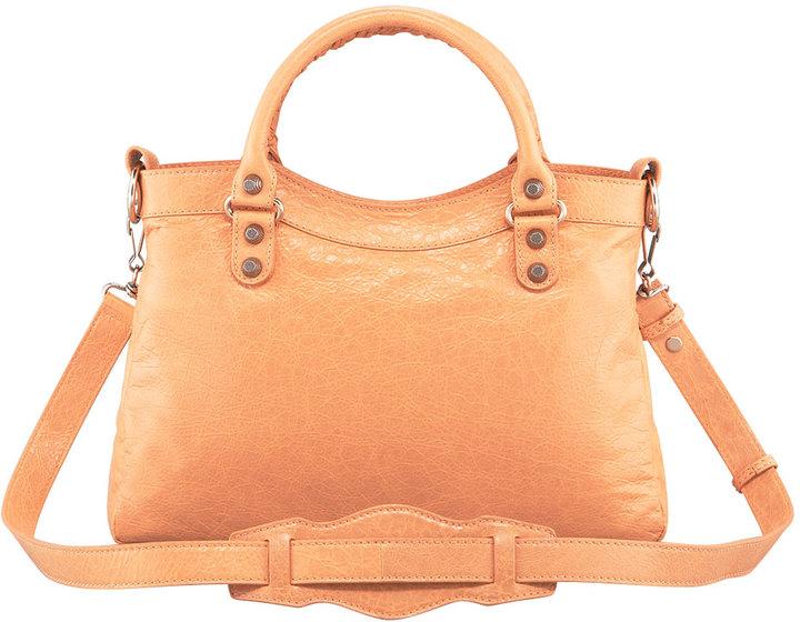 Balenciaga Giant 12 Rose Golden Town Bag, Rose Blush