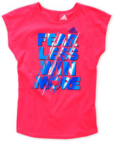 adidas Girls 7-16) Fearless Graphic Tee