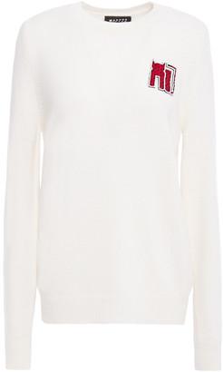 Markus Lupfer Mia Appliqued Wool Sweater