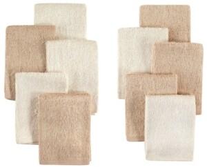 Little Treasure Bamboo Washcloths, 10-Pack