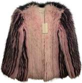 Mary Katrantzou Pink Fox Jacket for Women