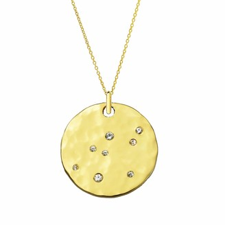 Yvonne Henderson Jewellery Gold Scatter Disc Necklace