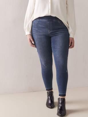 High Waist Denim Leggings - Spanx
