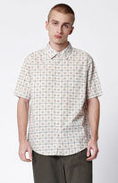 Brixton Branson Dotted Short Sleeve Button Up Shirt