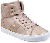 GUESS Women's Jaela High-Top Lace-Up Sneakers