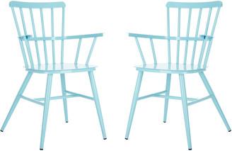 Safavieh Clifton Arm Chair/Baby Blue