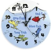 Dr. Seuss Dr. SeussTM by Trend Lab® One Fish Two Fish Wall Clock