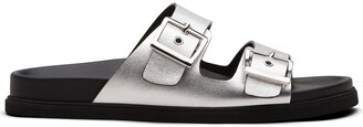 Car Shoe Double-Buckle Sandals