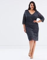 Junarose Emma 3/4 Lace Dress