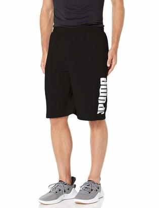"""Puma Men's Big Rebel Sweat Short 10"""""""