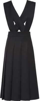 Miu Miu Compact pleated dress