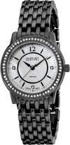 August Steiner Women's ASA827BK Dazzling Diamond Bracelet Watch