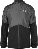 Under Armour - No Breaks Storm Shell And Mesh Hooded Jacket