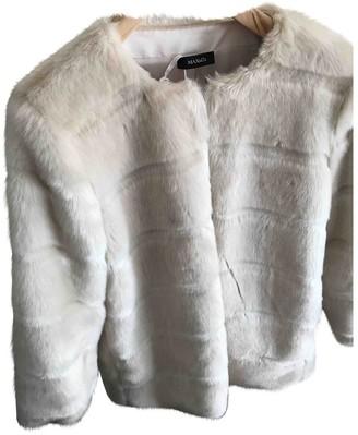 Max & Co. Beige Faux fur Coat for Women