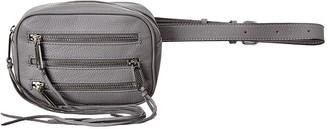 Rebecca Minkoff 3 Zip Leather Belt Bag