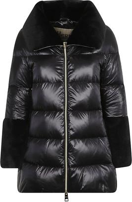 Herno Large Neck Mid-length Padded Jacket