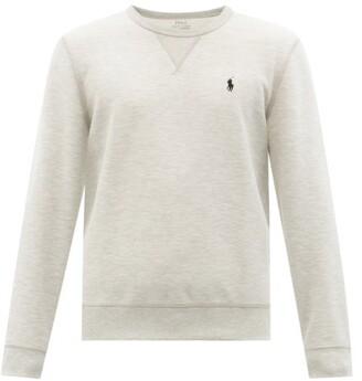 Polo Ralph Lauren Logo-embroidered Technical Sweatshirt - Grey