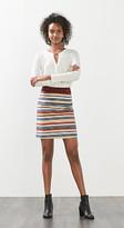 Esprit Multi-coloured mini skirt in stretch