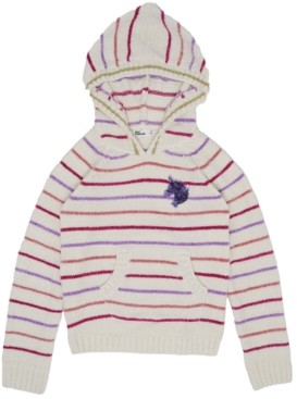 Epic Threads Big Girls Graphic Hooded Sweater Top