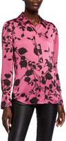 Equipment Sedienne Floral Long-Sleeve Button-Down Shirt