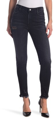 Black Orchid Jude Distressed Mid Rise Super Skinny Jeans