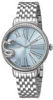 Roberto Cavalli Ladies Ice Blue Watch.