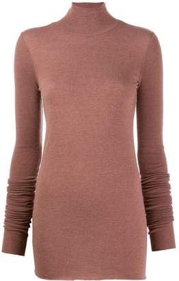Rick Owens Lilies funnel neck sweater