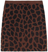 3.1 Phillip Lim / Cheetah Needle Punch Skirt