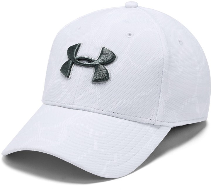 Under Armour Men's UA Printed Blitzing 3.0 Stretch Fit Cap