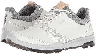 Ecco Biom Hybrid 3 GTX (White/Black) Women's Golf Shoes