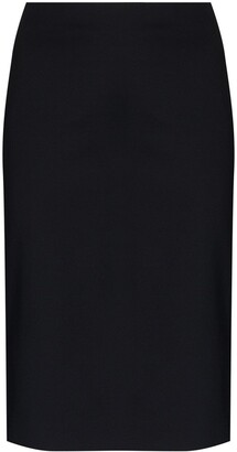 Coperni Side Split Midi Skirt