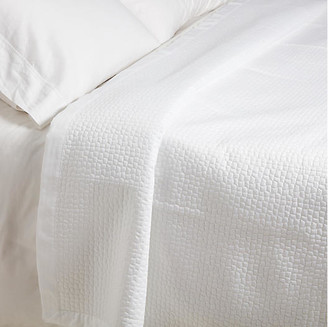 Peacock Alley Hamilton Coverlet - White Twin