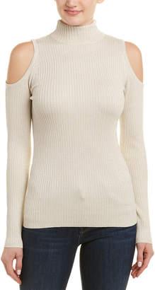Matty M Cold-Shoulder Sweater