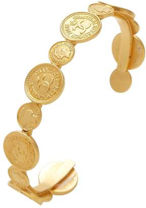 Chanel Gold Coin Cuff