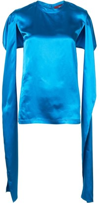 Sies Marjan Oversized Open Sleeve Top