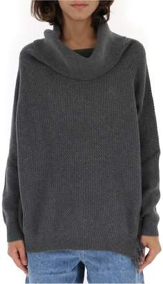 Stella McCartney Roll-Neck Oversize Sweater