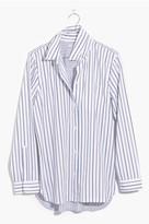 Madewell Women's Stripe Classic Ex-Boyfriend Shirt